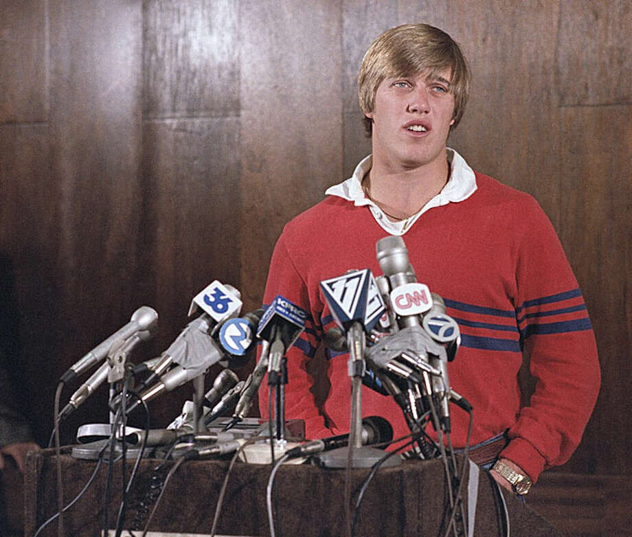 1983  John Elway was the obvious choice to be drafted first overall, but Elway and his father had made it clear he wouldn't play for the recently hired Frank Kush in Baltimore. (Jack Elway, a coach himself, didn't like how Kush had treated his players at Arizona State.) Colts general manager Ernie Acorsi, fearing he might wind up with nothing to show for the pick, took Elway and immediately shipped him to the Broncos for the fourth overall and Denver's No. 1 in 1984. Baltimore wound up with offensive tackle Chris Hinton and guard Ron Solt, the 19th pick overall the following spring, plus backup quarterback Mark Hermann. Hinton became a Pro Bowler for the Colts and spent 14 years in the league. Elway, of course, won two Super Bowls in Denver and is in the Hall of Fame. The guy they got in 1984, Steve Entman, ran into injury problems immediately and never had much of a pro career. Photo: Paul C. Strong / AP1983