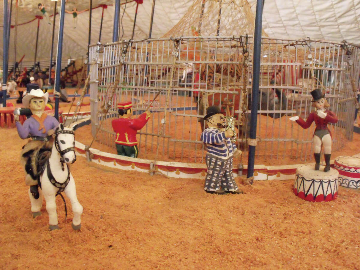 Pieces from the handmade Brinley Circus, started in the 1930s, will be the focus of a