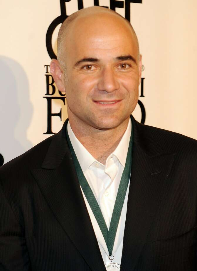 Andre Agassi Photo: Henny Ray Abrams, AP