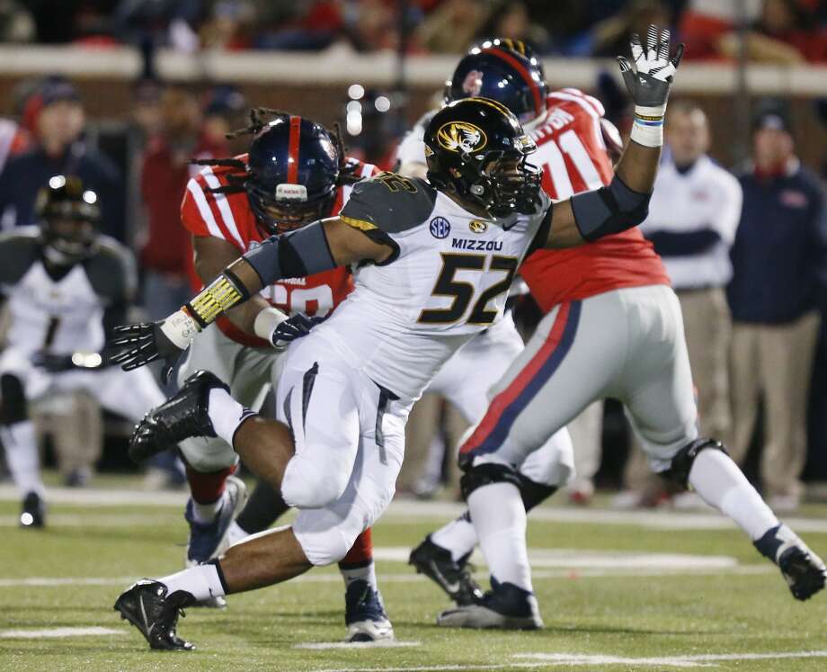 Missouri end Michael Sam was named Southeastern Conference Defensive Player of the Year. Photo: Rogelio V. Solis, Associated Press