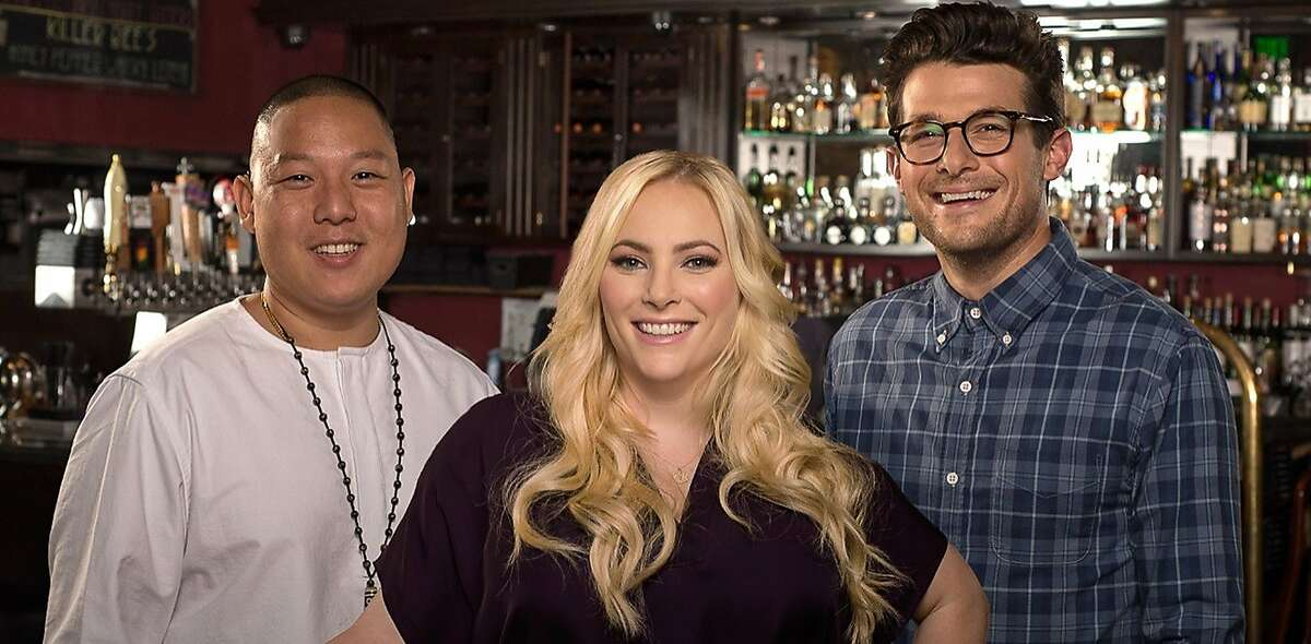 """Pivot TV's """"TakePart Live"""" premieres its new season with cohosts Eddie Huang, Meghan McCain and Jacob Soboroff"""