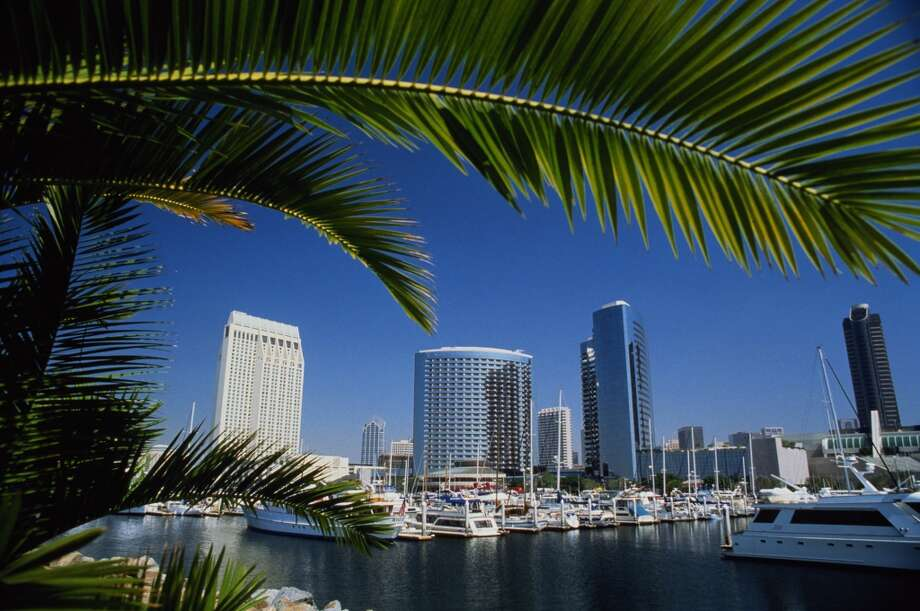 #7 – San Diego, California|  Households with moms: 28.2% | Average full-time income for women: $50,699 | Combined poverty rate: 44.6% | Annual childcare costs: $8,407 | CreditDonkey Relax Index: 19.7 Photo: Stuart Westmorland, Getty Images