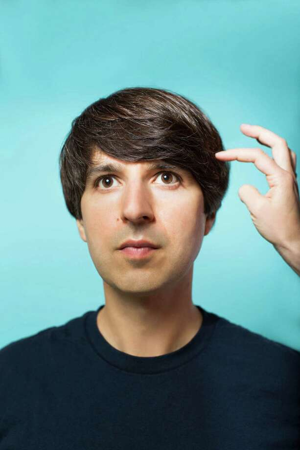 Demetri Martin performs at Stamford's Palace Theatre on Thursday, May 15. Photo: Contributed Photo / Connecticut Post Contributed