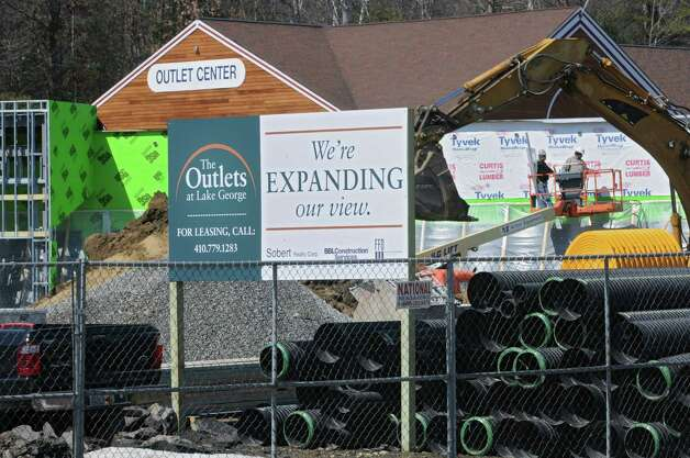 An expanded Coach Factory Store was set to open at The Outlets at Lake George in May 2014. Photo: Lori Van Buren / 00026340A