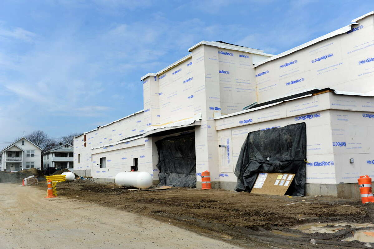 Price Chopper under construction at the former site of St. Patrick's Catholic Church on Wednesday, April 2, 2014, Watervliet, N.Y. (Cindy Schultz / Times Union)