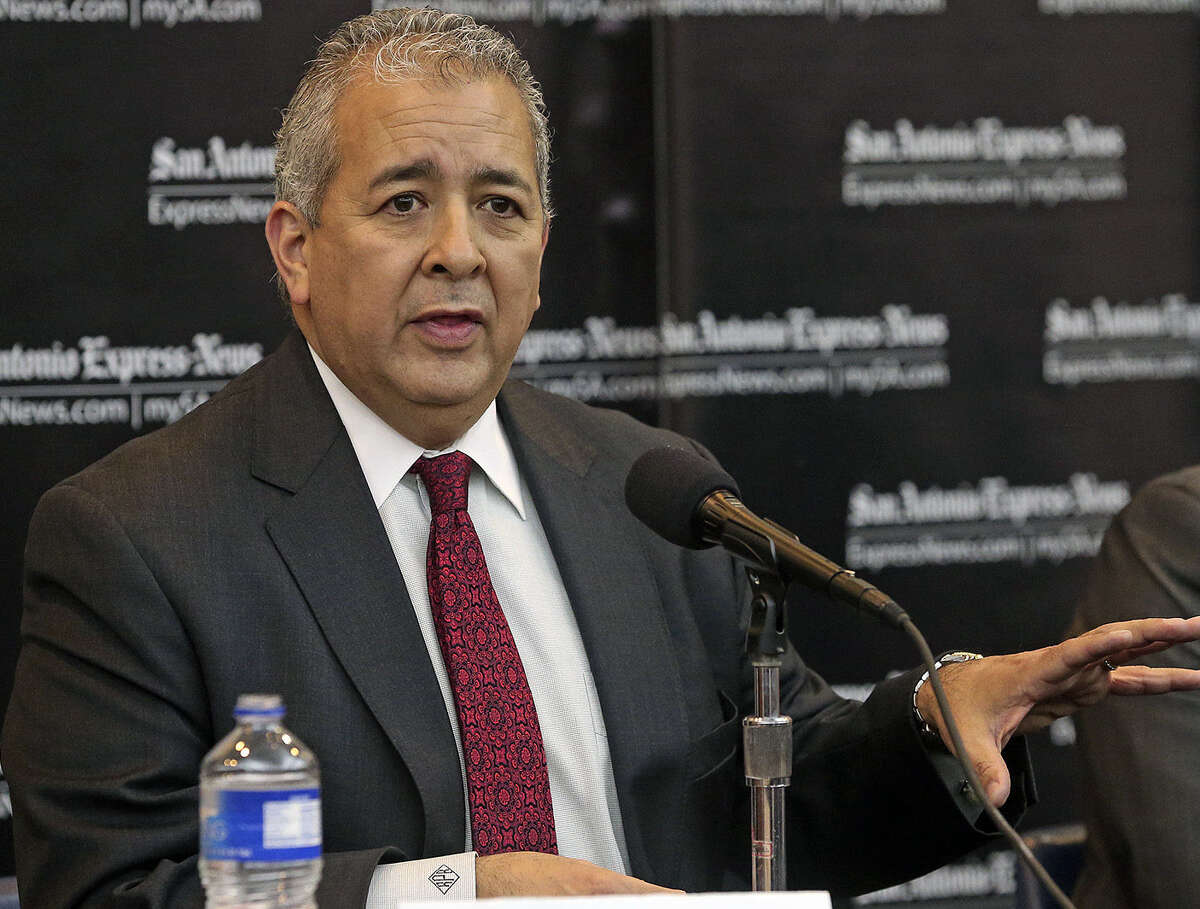 SAWS CEO Robert Puente said new growth in the city should not unfairly burden ratepayers, who already pay a monthly water supply fee.