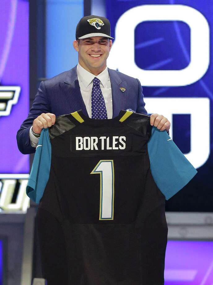 Central Florida quarterback Blake Bortles gets to stay in his home state after being chosen by the Jacksonville Jaguars with the No. 3 pick. Photo: Frank Franklin II, STF / AP