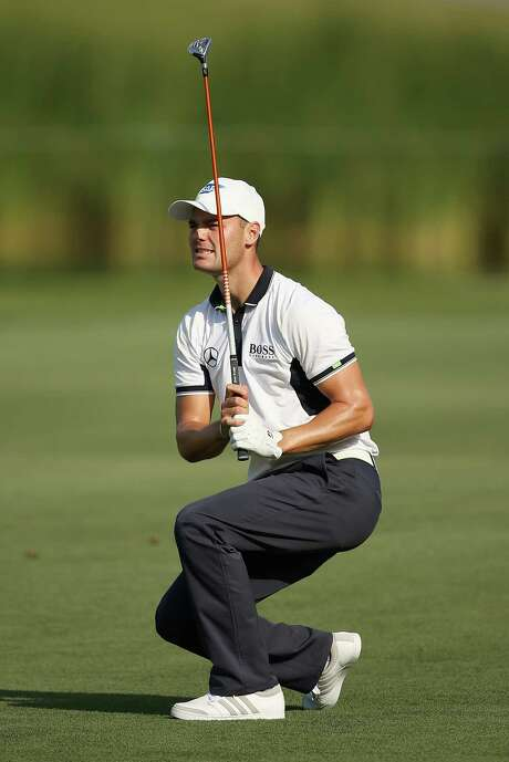 Martin Kaymer of Germany is only the fourth player to shoot a 9-under-par 63 on the Stadium Course at TPC Sawgrass after his nearly flawless round Thursday. Photo: Richard Heathcote, Staff / 2014 Getty Images