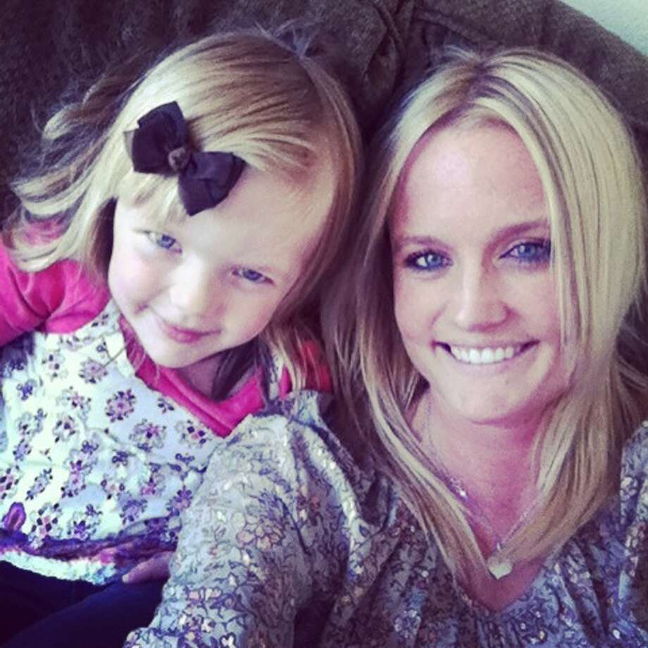 "Ashley Stranahan, professional nanny, and her daughter, Taylor, 4. Best parenting advice: ""PATIENCE!!!"""