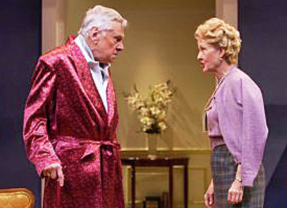 """Brian Murray and Mia Dillon are starring in the Noel Coward play, """"A Song at Twilight,"""" at the Westport Country Playhouse. Tonight's performance is at 8 p.m. Photo: Contributed Photo / Westport News"""