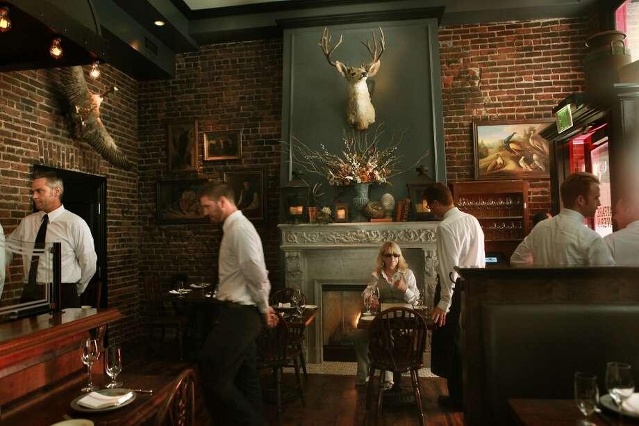 Wayfare Tavern in San Francisco. Photo: Liz Hafalia, The Chronicle