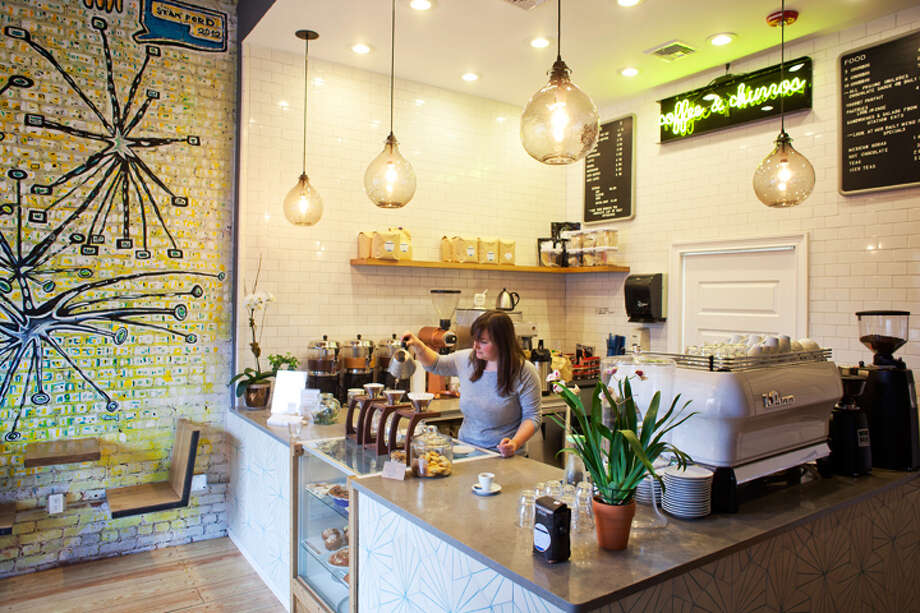 Lorca-  Churros and cortados for breakfast? Yes, please! Double dip freshly fried dough in caramel and chocolate sauce at this small but standout spot in the heart of downtown Stamford.  125 Bedford Street, Stamford,  203.504.2847