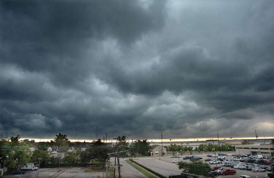Only 2 inches of rain fell in Beaumont last month. Forecasters with the National Weather Service said our best chance of showers in three weeks is expected today.  Enterprise file photo Photo: Pete Churton