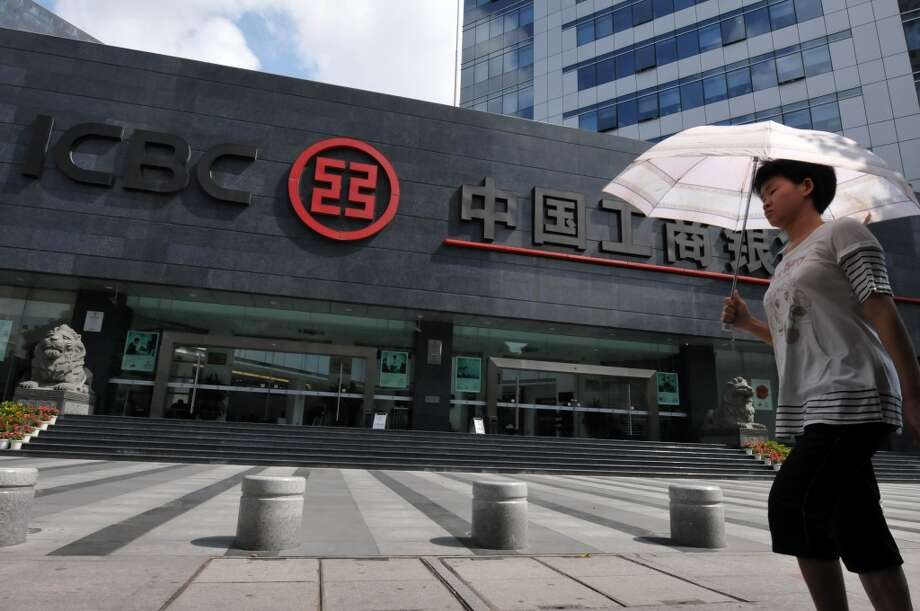The Industrial & Commercial Bank of China is opening its first Houston location on Tuesday. Photo: ChinaFotoPress, Getty Images