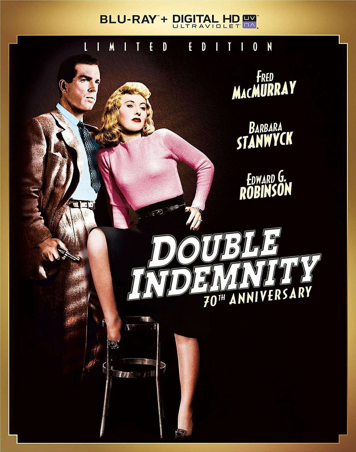 """DVD cover """"Double Indemnity"""""""