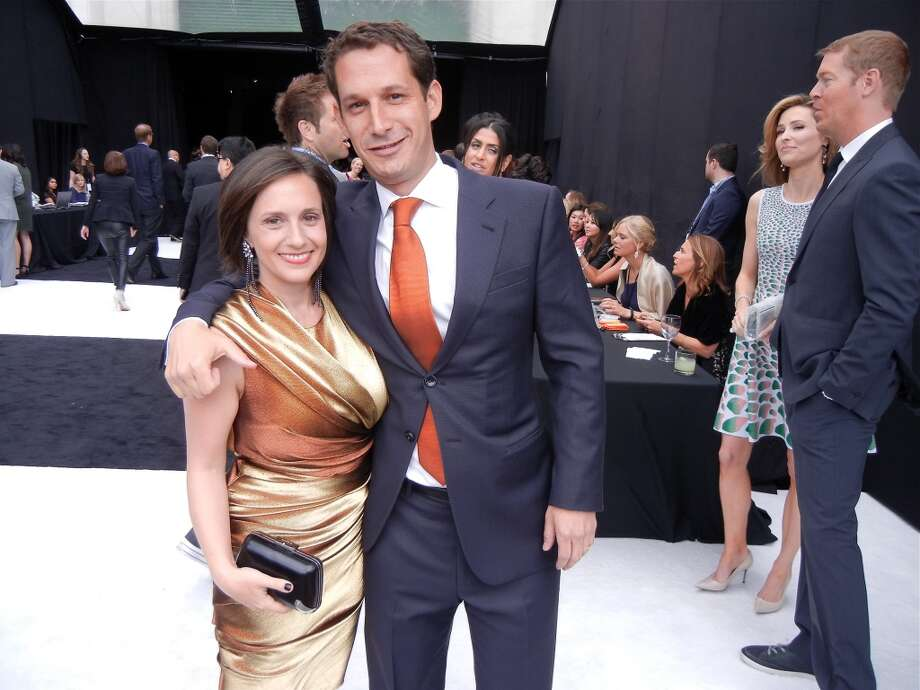 Becca Prowda and her husband, Tipping Point founder-CEO Daniel Lurie, at Pier 48 at the benefit for his poverty-fighting organization.