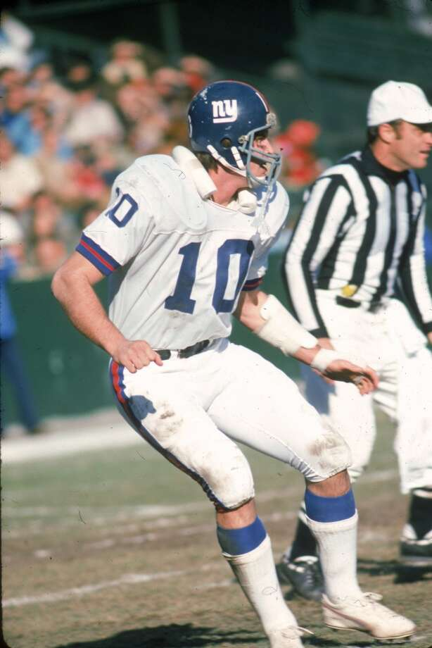 1973. Brad Van Pelt | Linebacker | Michigan StateAfter playing defensive back for the Spartans, the Giants turned Van Pelt into a linebacker in the pros. The switch worked, as Van Pelt started for over a decade in New York, making five consecutive Pro Bowls from 1976 through 1980. Photo: Clifton Boutelle, NFL