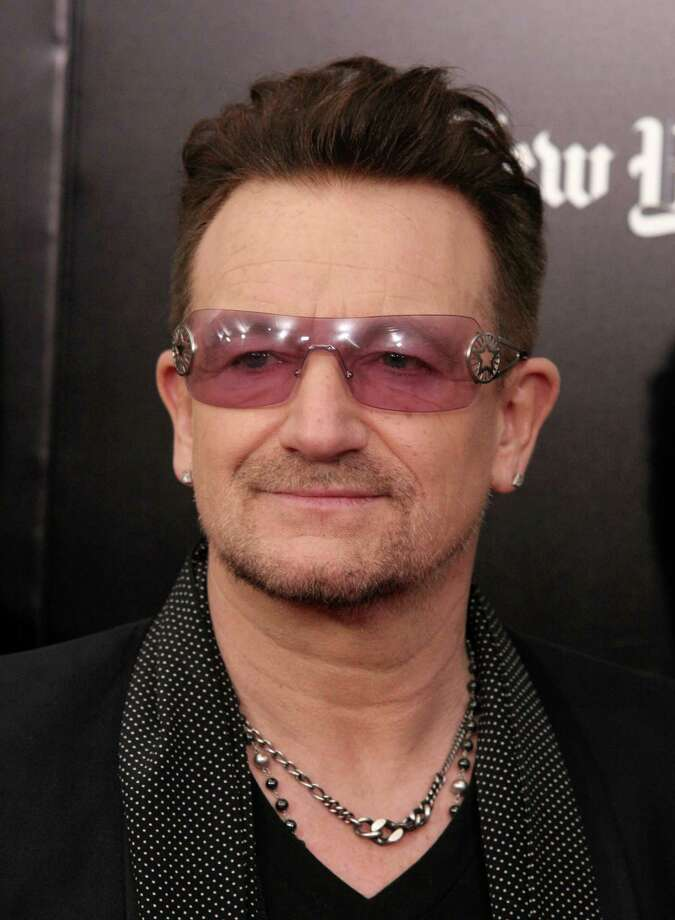 "Recording artist Bono attends a screening of ""Mandela: Long Walk To Freedom"" hosted by U2 and Anna Wintour on Monday, Nov. 25, 2013, in New York. (Photo by Andy Kropa/Invision/AP) ORG XMIT: NYAK104 Photo: Andy Kropa / Invision"