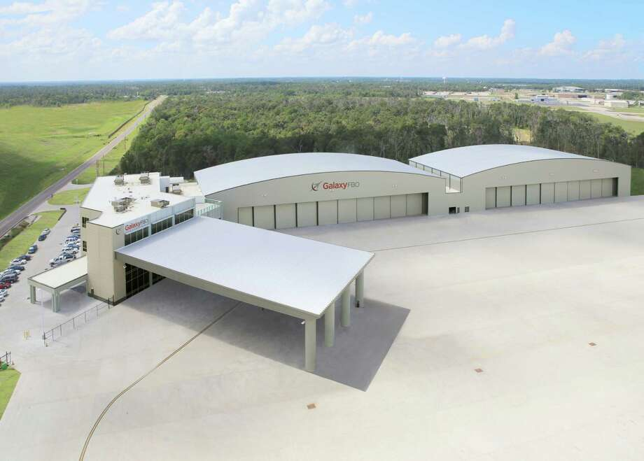 A new facility at Lone Star Executive Airport Galaxy FBO hopes to lure new corporate jet clients to the Conroe regional airport. Photo: Black Forest Ventures / ONLINE_YES