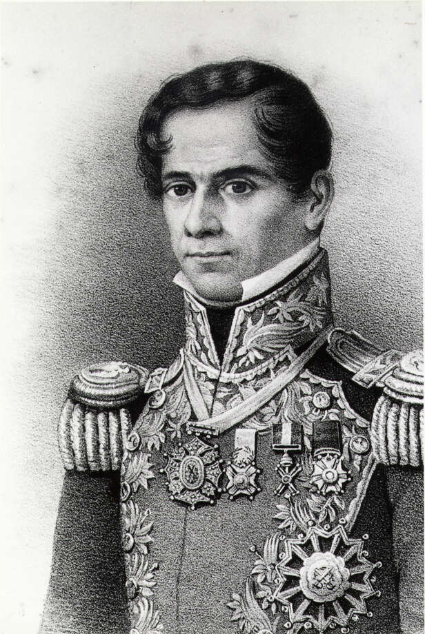 Santa Anna had just turned 42 when he and his army arrived at the Alamo. Photo: Special Collections, M.D. Anderson Library, University Of Houston-University Park / EXPRESS-NEWS FILE PHOTO