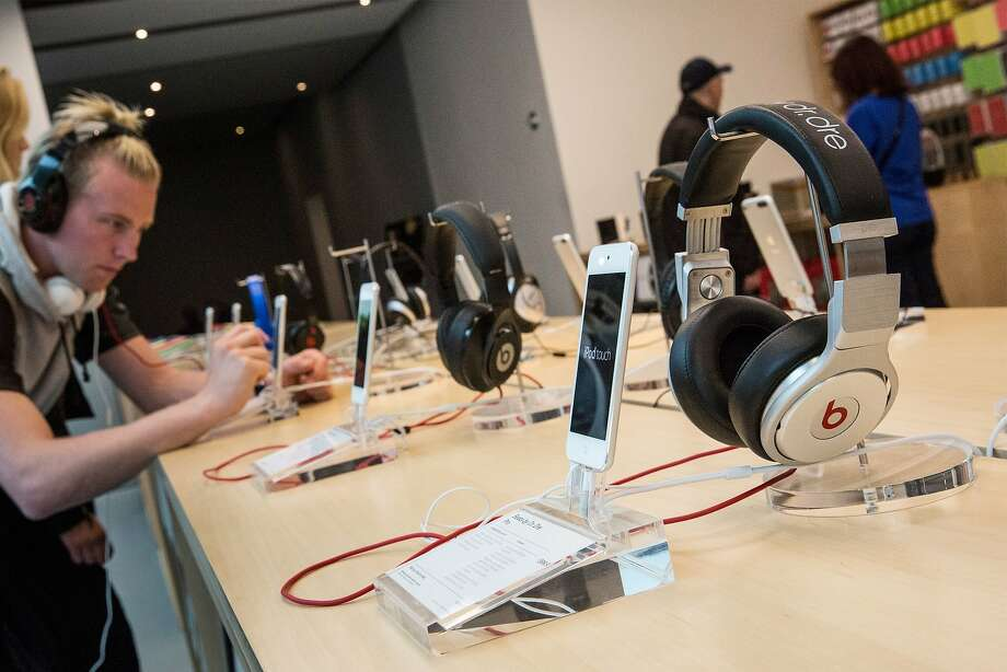 Beats headphones are a crucial part of the deal, of course, but streaming music could have a wider impact. Photo: Andrew Burton, Getty Images