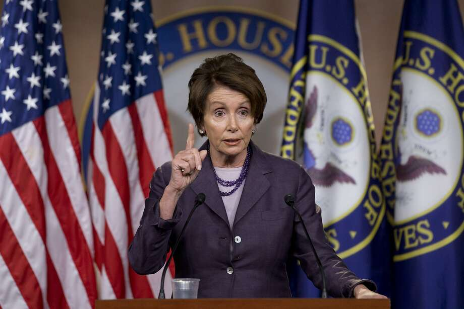 "House Minority Leader Nancy Pelosi dismissed the GOP-led probe as a ""political stunt."" Photo: Jacquelyn Martin, Associated Press"
