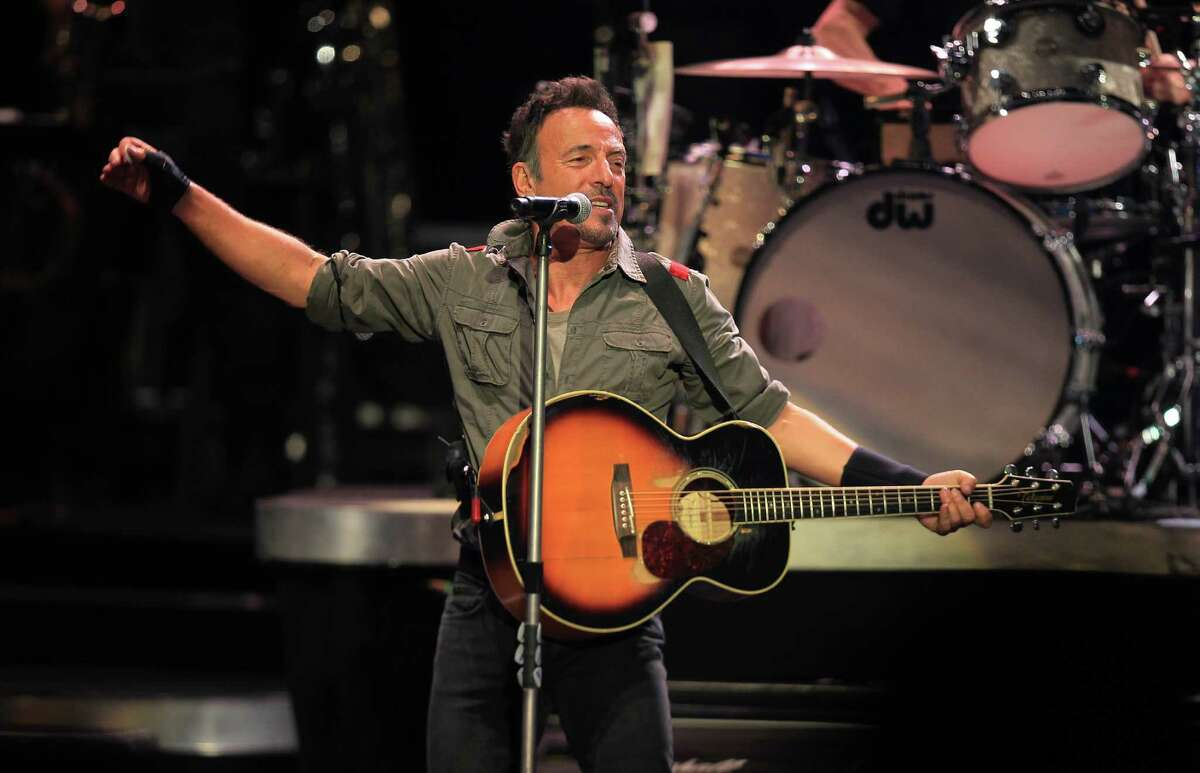 Bruce Springteen and the E Street Band rocked the Cynthia Woods Mitchell Pavilion Tuesday night.