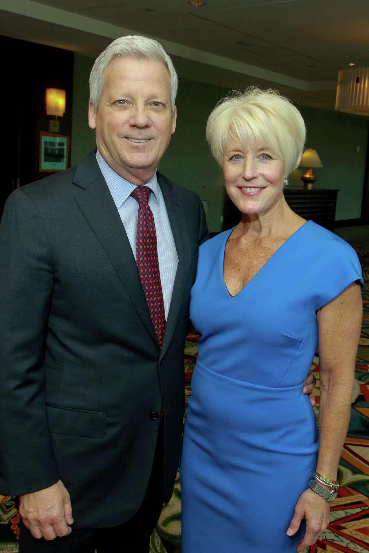 Co-chairs Jim and Carol Farnsworth
