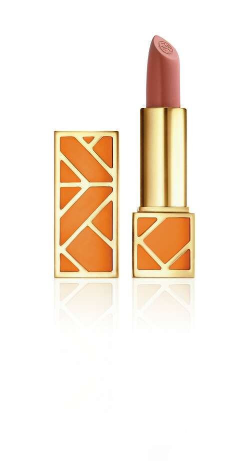 The new Tory Burch lip color collection features 12 flattering shades. Photo: Tory Burch / Tory Burch