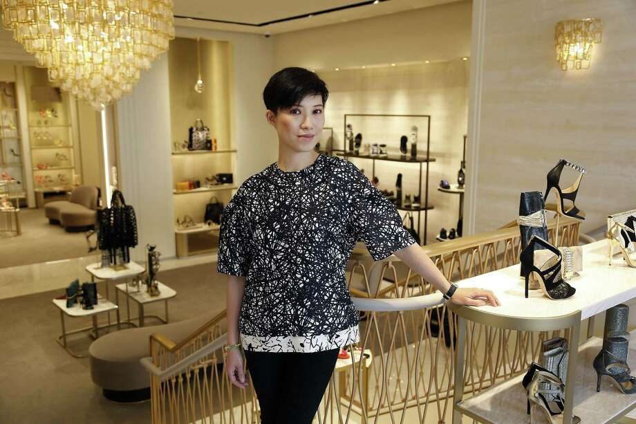Sandra Choi, the creative director for Jimmy Choo shoes, says the company is entering a new chapter. Photo: Kirk McKoy, MBR / Los Angeles Times