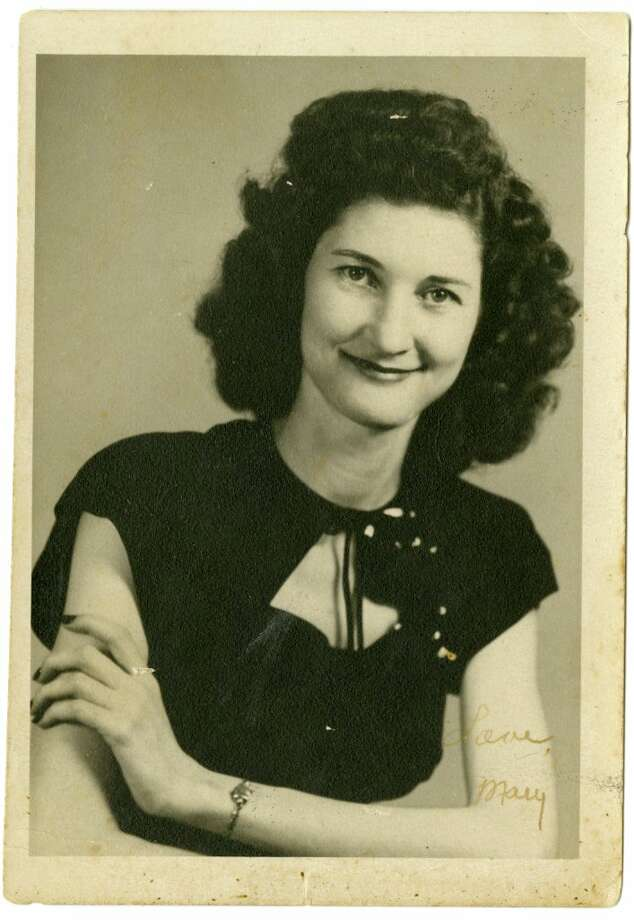 Mary Calvert, mother of Chronicle assistant city editor Mike Snyder, as a young woman.