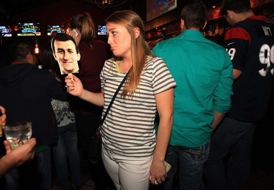 All eyes were on Johnny Manziel during Friday night's NFL Draft, especially when the Combine favorite became the butt of the joke when he was the 22nd pick in the first round. These are the jokes and memes created at Johnny Football's expense. Photo: Mayra Beltran, Associated Press