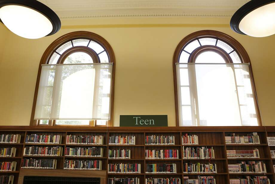The Presidio branch renovation restored the Carnegie library's original arched windows. Photo: Michael Macor, The Chronicle
