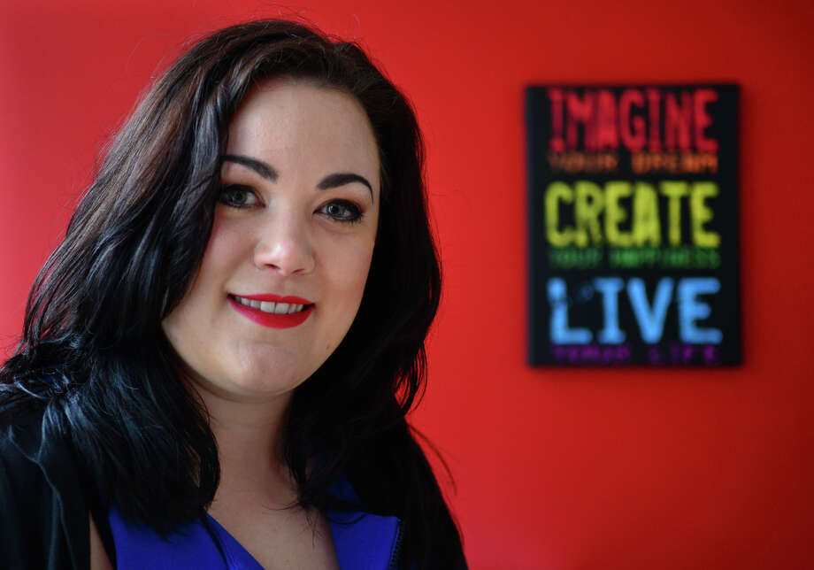 Maggie Pangrazio is the new artistic director at the Bijou Theater in Bridgeport, Conn. on Friday May 9, 2014. Photo: Christian Abraham / Connecticut Post