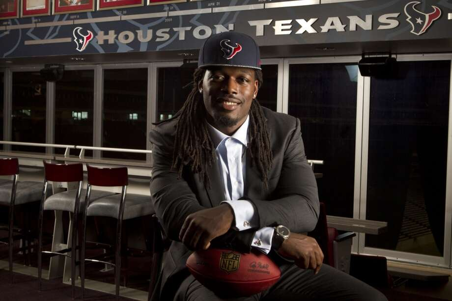 1st round (1st overall): Jadeveon Clowney, DE, South Carolina, 6-5, 266.  Clowney becomes the third No. 1 pick in Texans history. Photo: Brett Coomer, Houston Chronicle