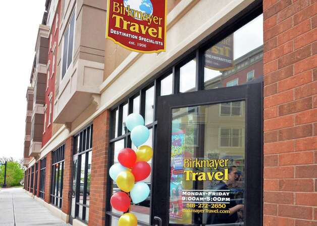 Birkmayer Travel moved from River Street in Troy to larger quarters at City Station in May 2014. Photo: John Carl D'Annibale / 00026840A