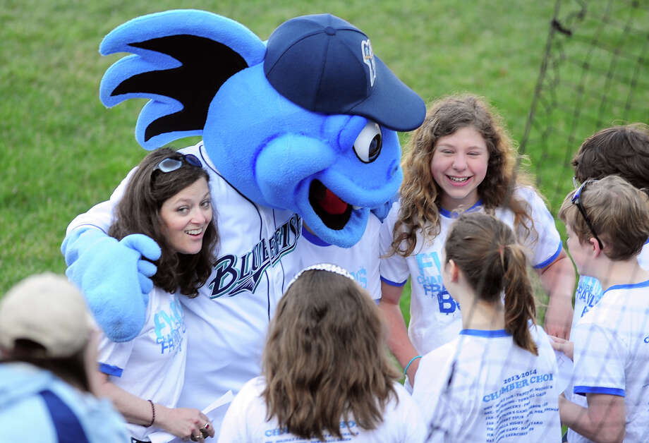 Hit a home run with Pequot Library. Spend an evening cheering on the Bridgeport Bluefish and enjoy Hunger Games night and the Saturday Fireworks Extravaganza. Find out more.  Photo: Christian Abraham / Connecticut Post