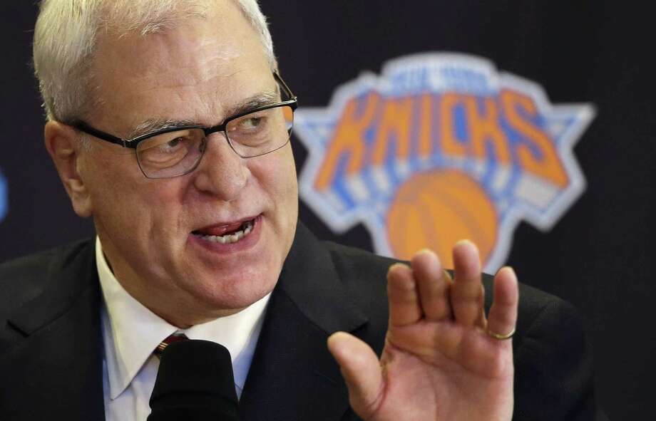 "Phil ""Zen Master"" Jackson is now the N.Y. Knicks president. Photo: Mark Lennihan / Associated Press / AP"