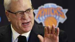 "Phil ""Zen Master"" Jackson is now the N.Y. Knicks president."