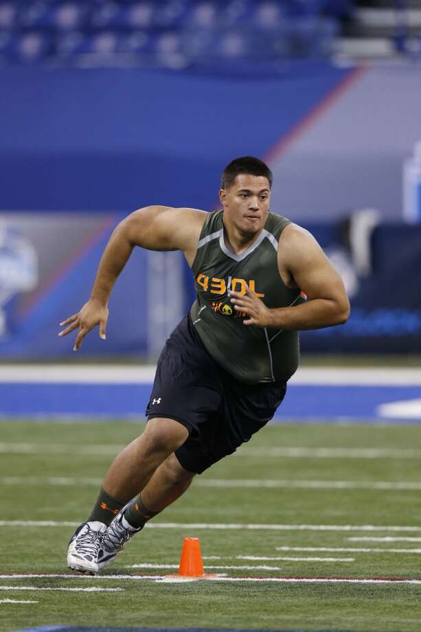 2nd round (33rd overall): Xavier Su'a-Filo, G, UCLA, 6-4, 307.How he'll be used this season – He was drafted to replace Wade Smith at left guard. Smith has started the last 64 games there but won't be re-signed. Because the Texans will rely on their running game more than most teams with Arian Foster's presumed healthy return and because the quarterback situation is in flux, Su'a Filo needs to be an instant-impact player. Photo: Joe Robbins, Getty Images