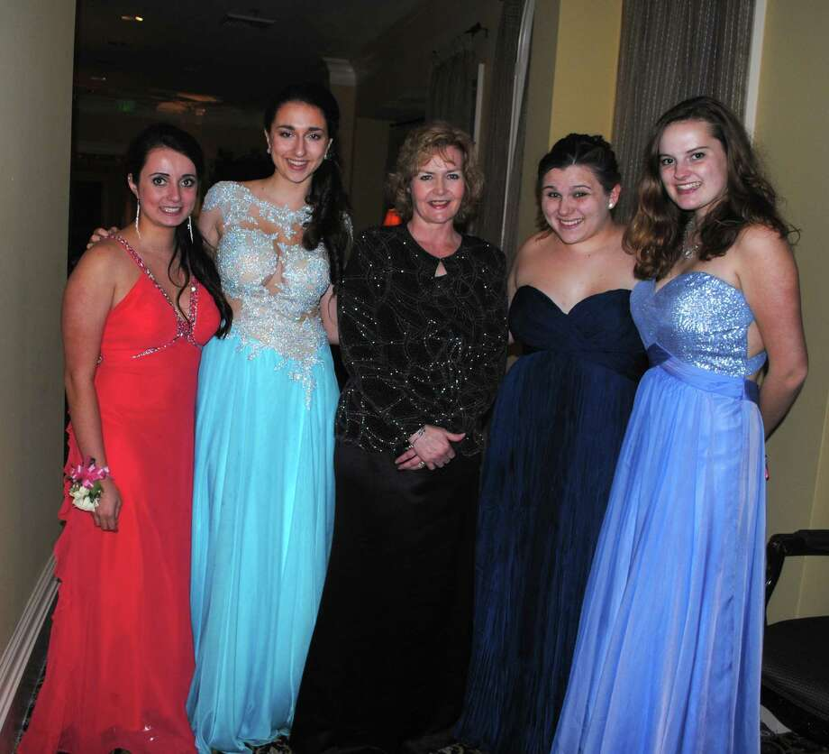 Juniors and seniors from Immaculate High School in Danbury spent prom night overlooking Lake Zoar at the Waterview in Monroe on May 9. Were you SEEN at the prom? Photo: Wendy Mitchell