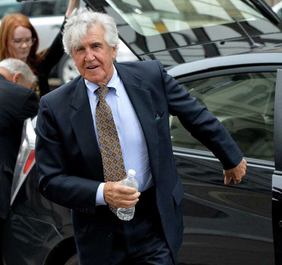 Former state Senator Joe Bruno returns to the federal courthouse Friday morning May 9, 2014 for the resumption of his corruption trial in Albany, N.Y.    (Skip Dickstein / Times Union) Photo: SKIP DICKSTEIN / 00026813C