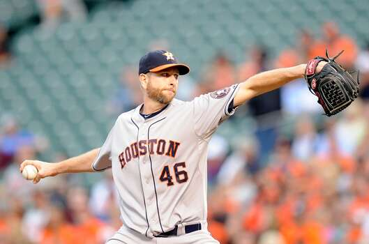 May 9: Orioles 4, Astros 3  Despite a solid start from Scott Feldman, the Astros couldn't hold off the Orioles in Baltimore as the bullpen again played the role of spoiler.  Record: 11-25. Photo: Greg Fiume, Getty Images