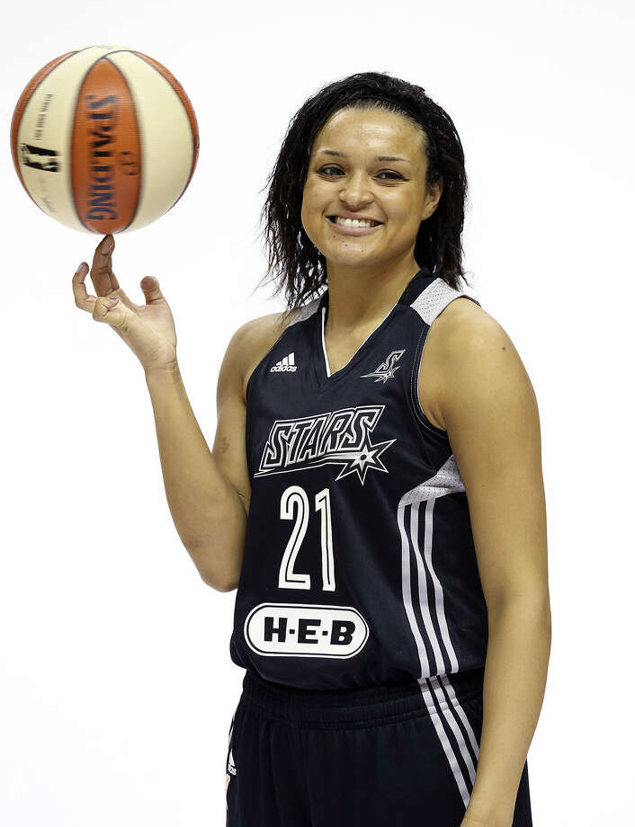 New Stars guard Kayla McBride is ready to check out one San Antonio tradition — Mexican food. Photo: Tom Reel / San Antonio Express-News
