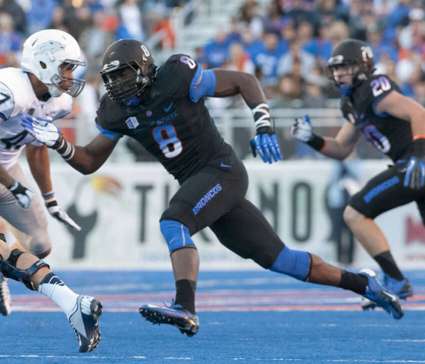 Demarcus Lawrence Pick 34 Boise State Defensive end 6'3