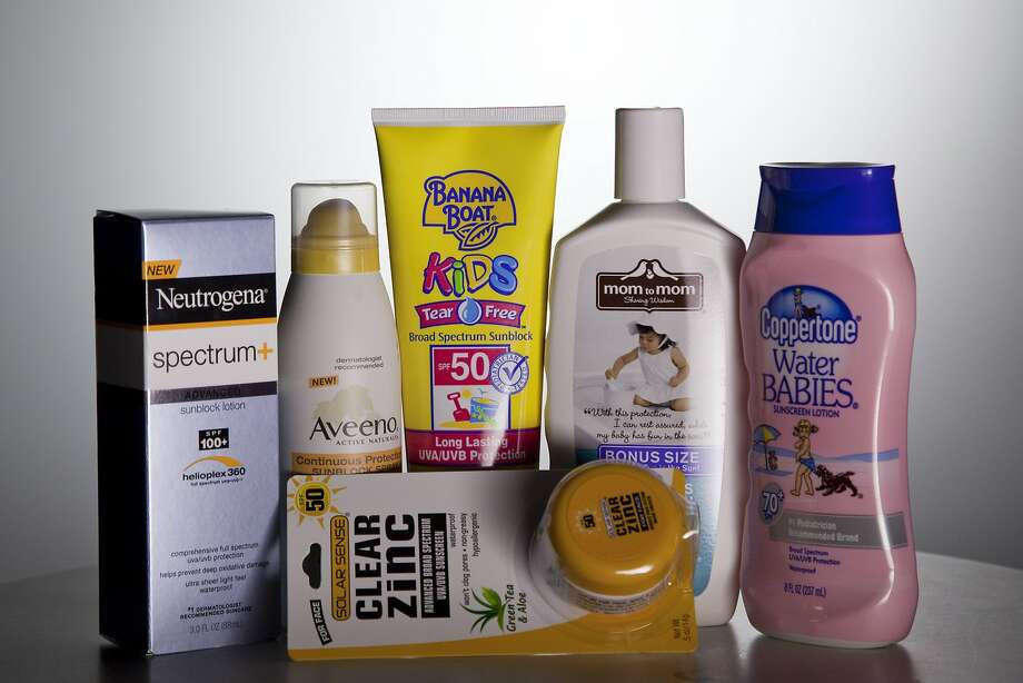 In this May 26, 2010 file photo, various sunscreen products are seen in Washington.  When the Obama administration agreed to set the first-ever federal limits on runoff in Florida, environmental groups thought the state's waters would finally get clean from a nutrient overdose that spawns algal blooms, suffocates rivers, lakes and streams, and forms byproducts in drinking water that could make people sick. The Florida rule is one of a string of regulations delayed at federal agencies, or at the White House office responsible for reviewing new rules. Together, they highlight the administration's cautiousness in an election year, where it has been increasingly under attack by Republicans and business groups for favoring big government and costly regulations that they allege kill jobs.  (AP Photo/Evan Vucci, File) Photo: Evan Vucci, Associated Press