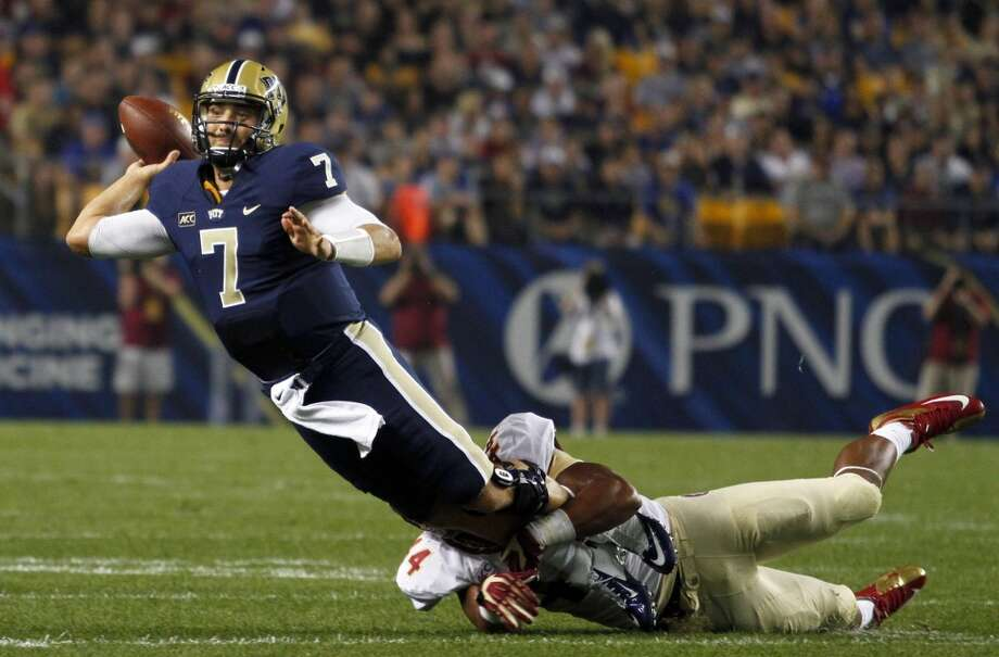 4th round (135th overall): Tom Savage, QB, Pitt, 6-4, 228.  How he'll be used this season – It's hard to fathom him stepping in and starting straight away, so Ryan Fitzpatrick and Case Keenum will likely duke it out while he learns in the background. Hopefully, he'll be a sponge. Bill O'Brien's reputation as a quarterback guru will be put to the test, but he's got excellent raw material to work with Savage, it would seem. Photo: Justin K. Aller, Getty Images