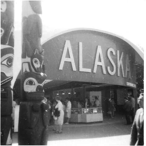 """Step back in time 50 years and take a look at the Alaska Pavilion, part of the World?s Fair in Flushing. Mitchell Silver of Niskayuna, who was living in Wilkes-Barre, Pa., recalls a June 1964 visit: """"I was 14 at the time, and my brother Steven was 11; and we were with my parents, Norman and Lillian Silver. I remember enjoying the Fair and having a real good time. I specifically remember participating in the """"It's a Small World"""" ride, and the Abraham Lincoln show."""" (Mitchell SIlver)"""