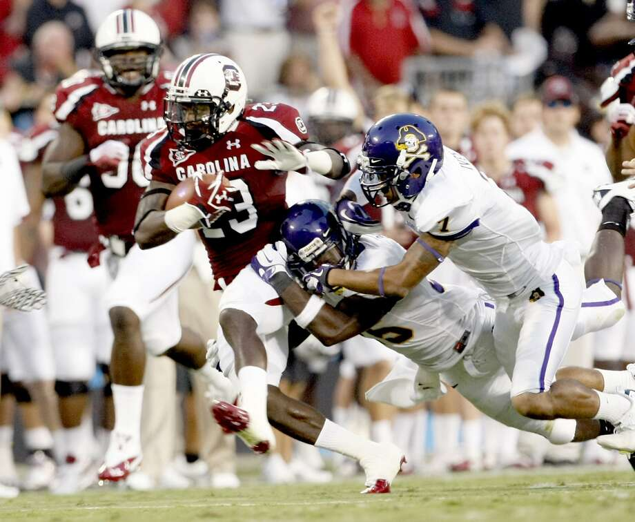 Bruce Ellington was an All-SEC wide receiver last season at South Carolina. Photo: C. Aluka Berry, McClatchy-Tribune News Service