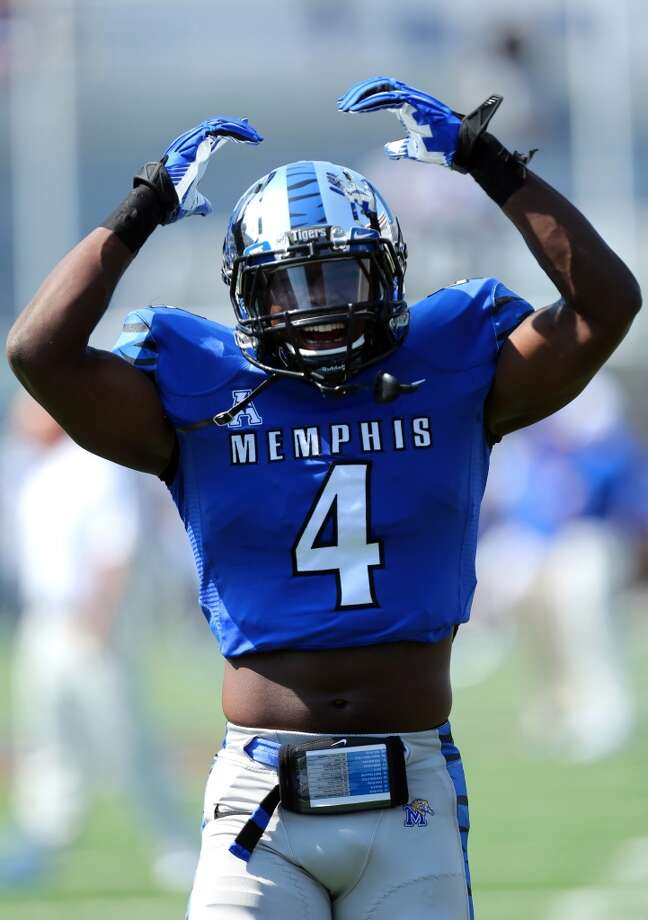 7th round (256th overall): Lonnie Ballentine, S, Memphis, 6-3, 219.Strengths – He showed big-league quickness at his pro day, running the 40 in 4.39 and he managed 18 reps in the 225-pound bench press. Also, he's Seahawks-sized DB, which isn't a terrible trend to emulate. Photo: Joe Murphy, Getty Images